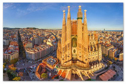 Обзорная экскурсия по Барселоне.