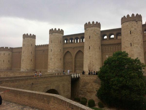 Дворец в Сарагосе.
