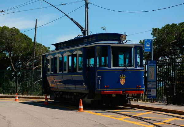 Синий трамвайчик.
