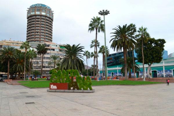 Площадь в старой части города.