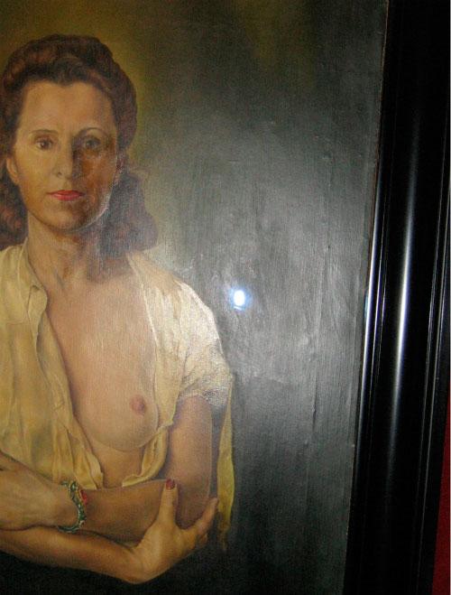 Жена художника.