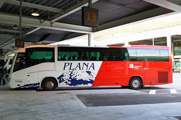 Автобус до Таррагоны.