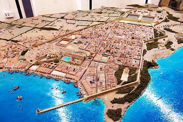 Модель города Таррако.