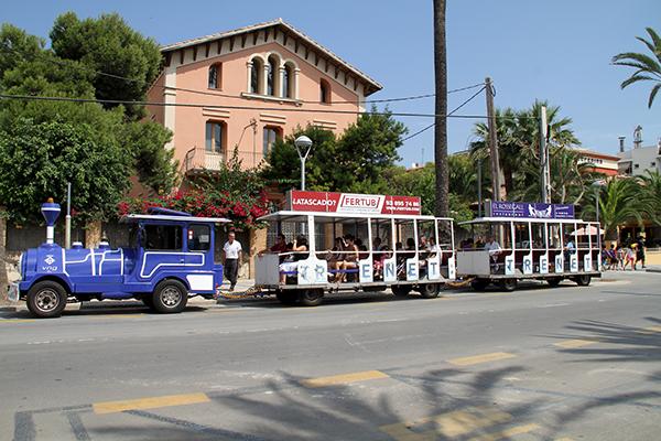 Туристический поезд Trenet Turístic.