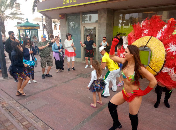 Испанский карнавал.