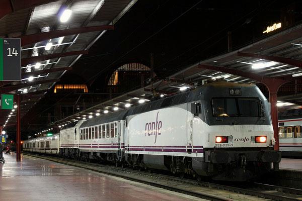 Железные дороги в Испании.