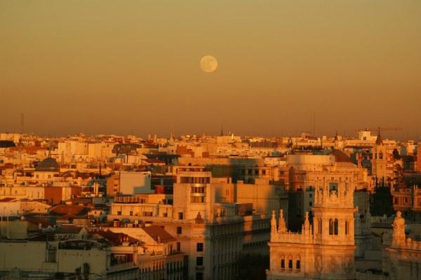 Ноябрь в Мадриде.