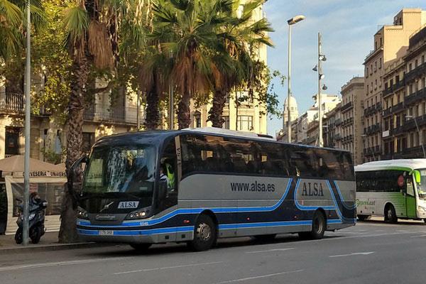 Как доехать до Мадрида на автобусе.