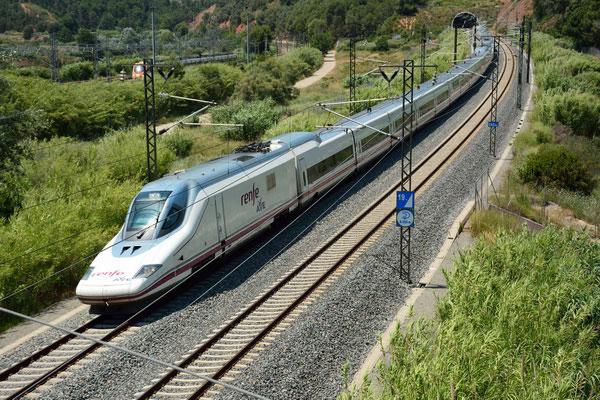 Скоростные поезда в Испании.