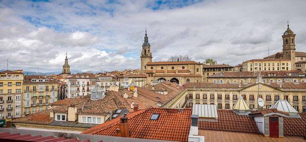 Панорама города Витория-Гастейс.