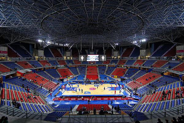Баскетбольный матч.
