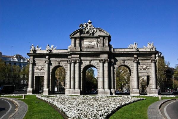 Весна 2020 в Мадриде.