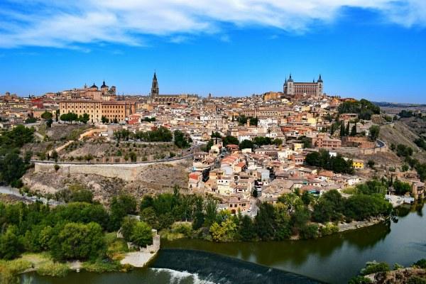 Город в Испании.