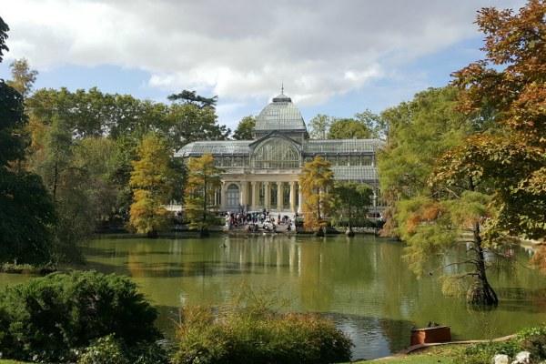 Осенний Мадрид.
